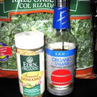 Sesame Kale Mixture