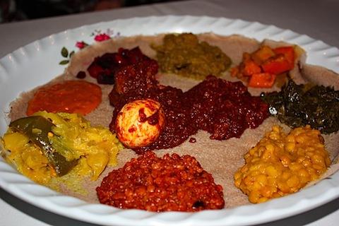Ethiopian Feast | Eating Bird Food