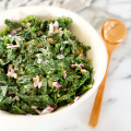 Kale with Peanut Sauce