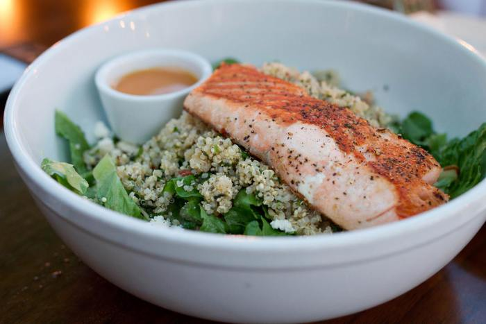 The Daily Seared Salmon