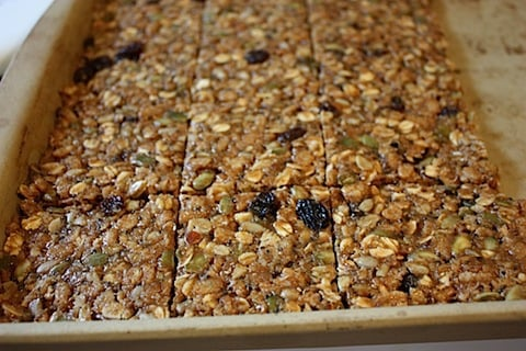 Chewy Oat Square