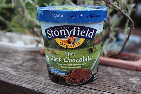 After Dark Chocolate Frozen Yogurt