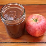 Healthy Homemade Apple Butter