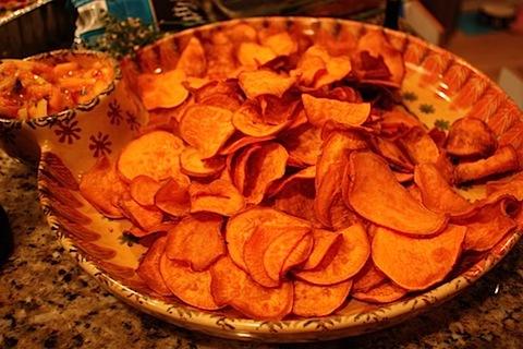 homemade sweet potato chips.JPG