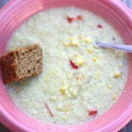 Quinoa, Leek, and Corn Chowder