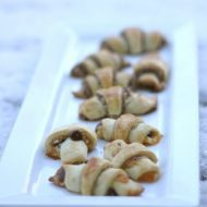 Nutella Rugelach for Hanukkah