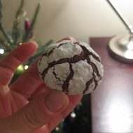12 Days of Cookies, Day 7: Chocolate Crinkles and Crackles