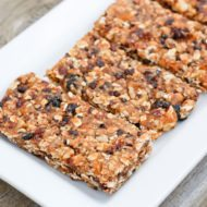 Simply Fruit and Nut Bars