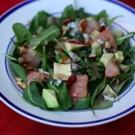 Be my Valentine Arugula Salad