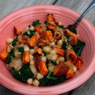 Kale and Sweet Potato Brown Rice Bowl