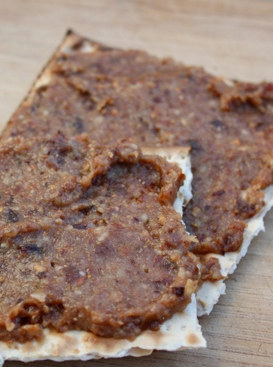 Healthy Passover Charoset