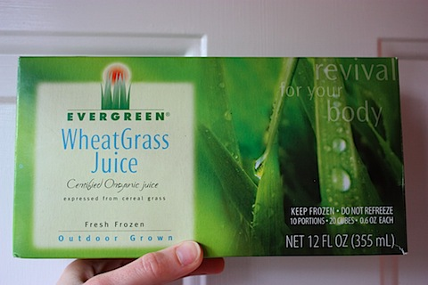 Wheat grass whole foods