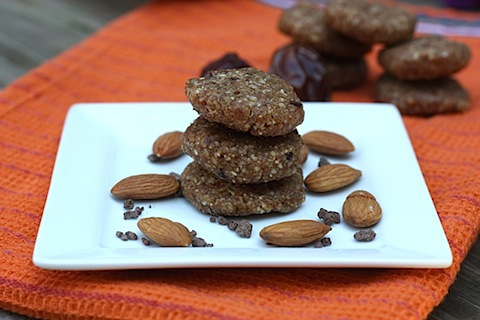 healthy almond cookies