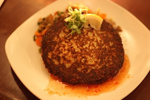 green curry quinoa cake.JPG