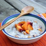Vegan Peach Muesli