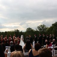 Sandy and Adam Tie the Knot