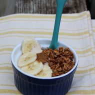 Monkey Business – Peanut Butter Yogurt