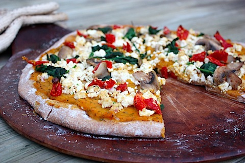 Vegan Pumpkin Ricotta Pizza.JPG