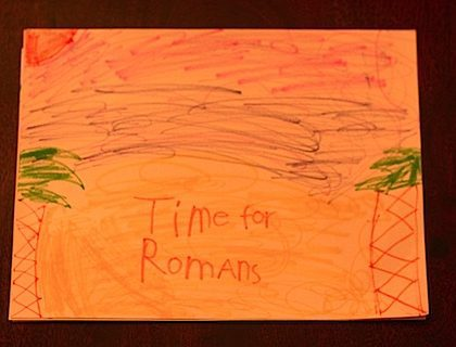 Time for Romans (At Lewis Ginter)