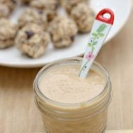 Cinnamon Vanilla Coconut Peanut Butter and Balls