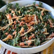 Let Them Eat Vegan! Kale Slaw Recipe