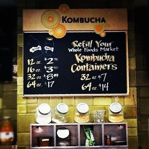 Whole Foods Kombucha On Tap