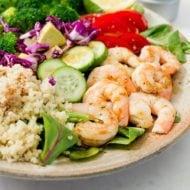 Clean Eating Shrimp Salad
