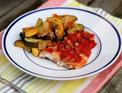 Baked Salmon with Herbs and Lime