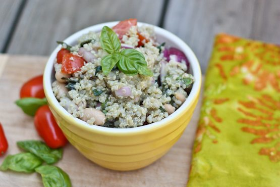 White Bean Quinoa Salad