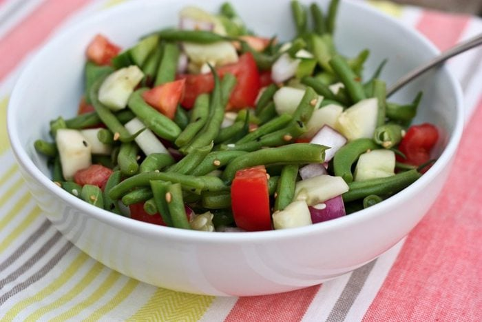 Mmm I love green bean salads! Cant wait to try this!