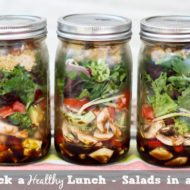 Salad in a Jar – Quick and Easy Lunch Idea