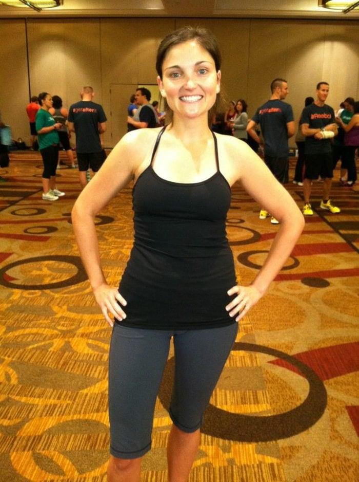 fitbloggin workout