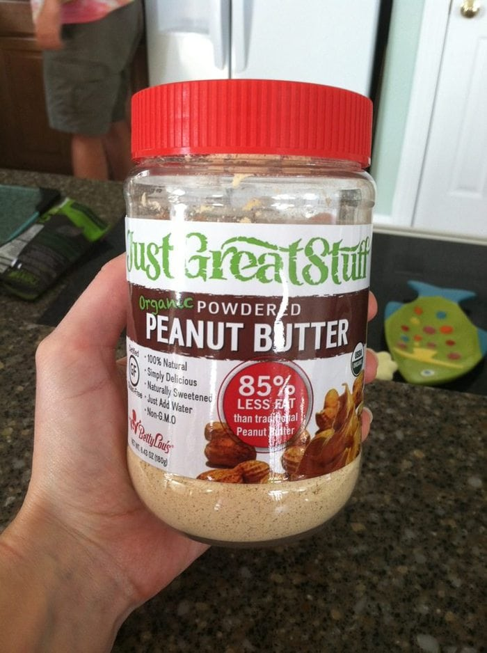Just Great Stuff powdered peanut butter