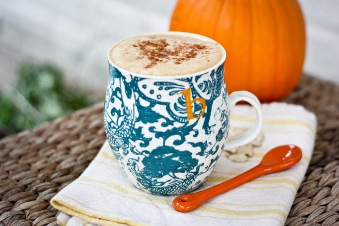 Homemade Pumpkin Latte4