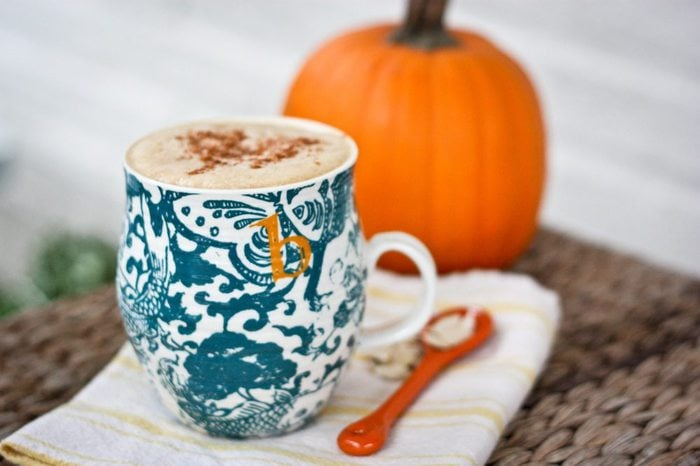 Homemade Pumpkin Spice Latte1