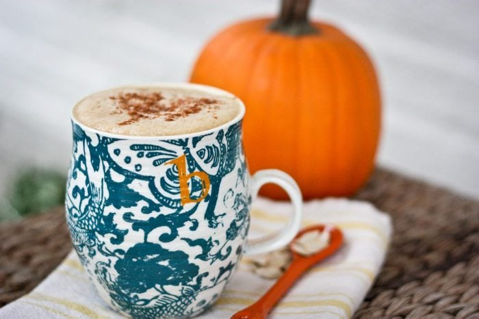Homemade Pumpkin Spice Latte2