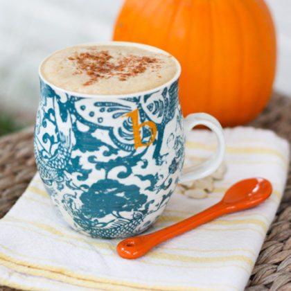 Healthy Homemade Pumpkin Spice Latte