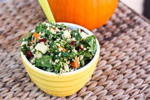 Fall spinach salad