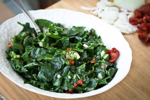 Raw Collards