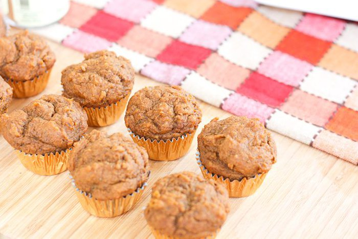 Without the butterscotch chips each muffin has about 55 calories ...