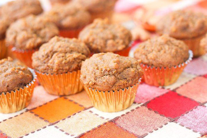 muffins and not just any muffins mini vegan pumpkin muffins