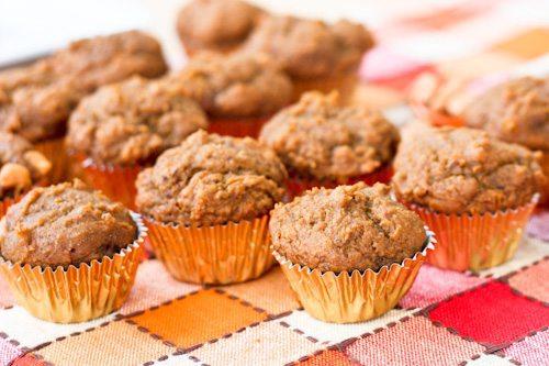 Mini Vegan Pumpkin Muffins – Perfect for a light Thanksgiving day ...