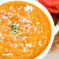 Healthy Carrot & Parsnip Soup