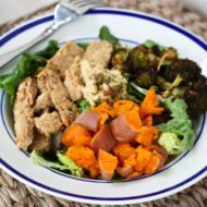 Perfectly Cooked Sweet Potatoes in Salads