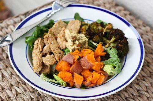 Sweet potato in salads