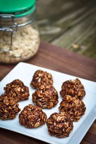 Healthy no bake cookies 1