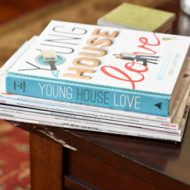Young House Love Book Signing and A Knee Update