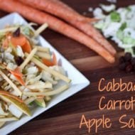 Cabbage, Carrot and Apple Salad