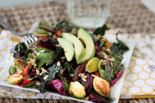 Detox Salad - Eating Bird Food