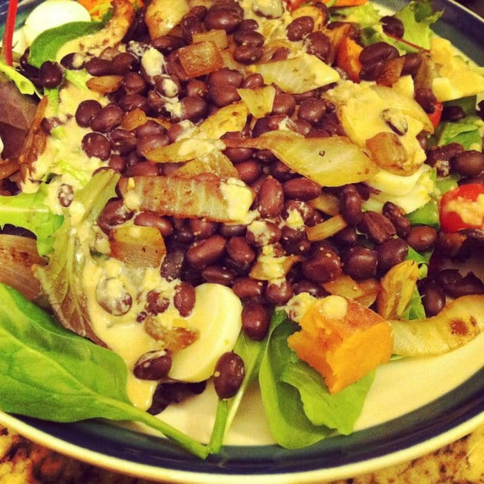 black bean salad 7dsd